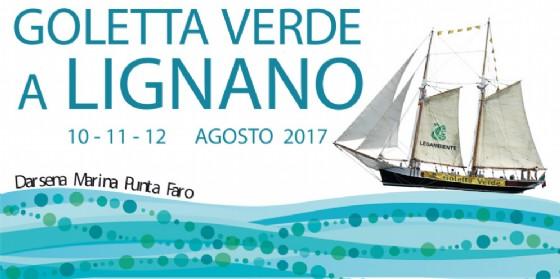 Tappa finale di Goletta Verde in Fvg a Lignano Sabbiadoro (© Goletta Verde)