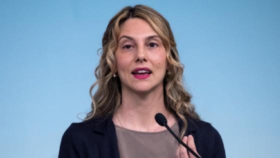 Marianna Madia, ministro senza portafoglio per la semplificazione della Pubblica Amministrazione del governo Gentiloni.