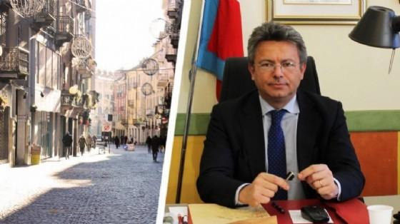 Marco Cavicchioli e via Italia (© Diario di Biella)