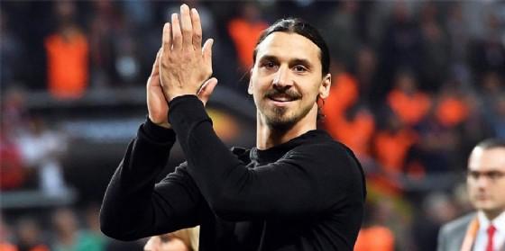 Zlatan Ibrahimovic ha giocato nel Milan dal 2010 al 2012