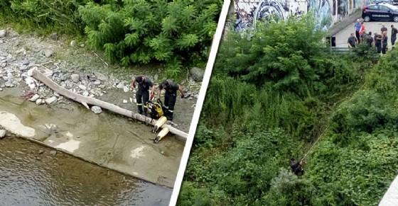 L'operaio è scomparso nelle acque ieri, durante la pausa pranzo (© Anna Catalano)