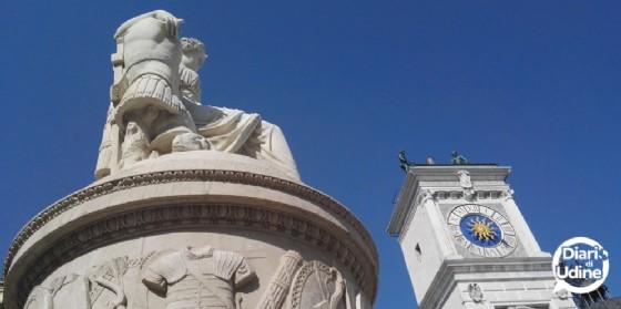 Dopo Ercole e Caco altre altre due statue sono state 'restituite' alla città (© Diario di Udine)