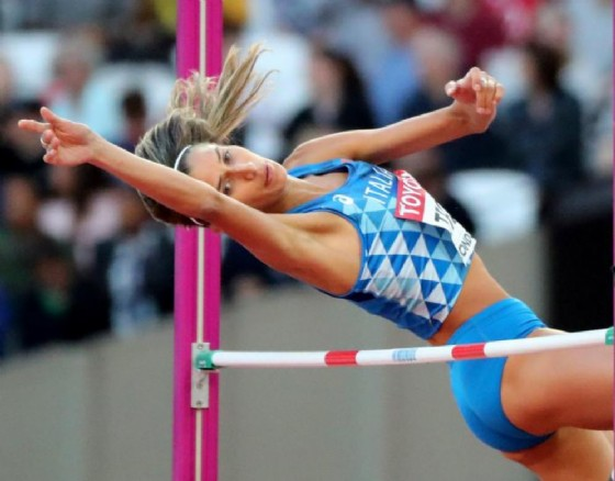Mondiali di atletica: Trost eliminata nell'alto (© ANSA)
