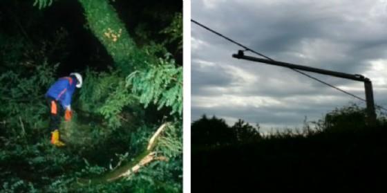 Maltempo: in alcune zona manca l'energia elettrica da 15 ore (© Enel)