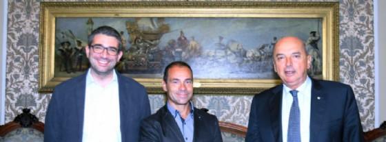 Roberti, Tamaro e Dipiazza (© Comune di Trieste)