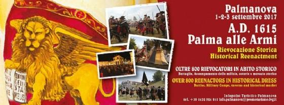 A Palmanova torna «A.D. 1615 Palma alla Armi»
