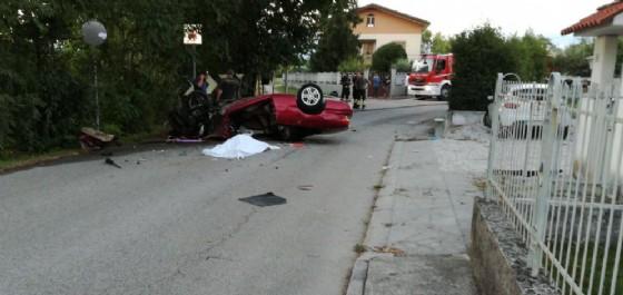 Incidente mortale a San Giovanni al Natisone (© G.G.)