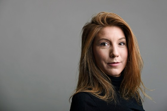 A handout photo shows Swedish journalist Kim Wall who was allegedly on board the submarine before it sank on Thursday