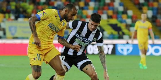 Buona la prima ufficiale al Friuli, 3-2 al Frosinone (© Diario di Udine)
