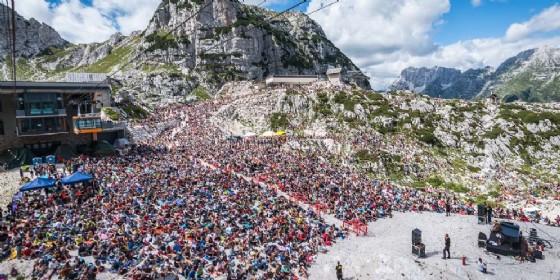No Borders: 8 mila persone al rifugio Gilberti per Vinicio Capossela (© Simone Di Luca)