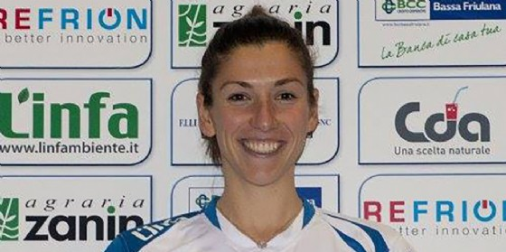 Arriva Zinajda Aliaj nell'organico della formazione del Pordenone Volley (© Insieme per Pordenone Volley)
