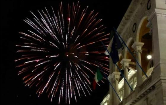 Fuochi d'artificio a Trieste