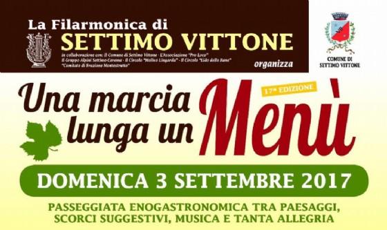 A Settimo Vittone «Una Marcia Lunga un Menù» (© Filarmonica di Settimo Vittone)