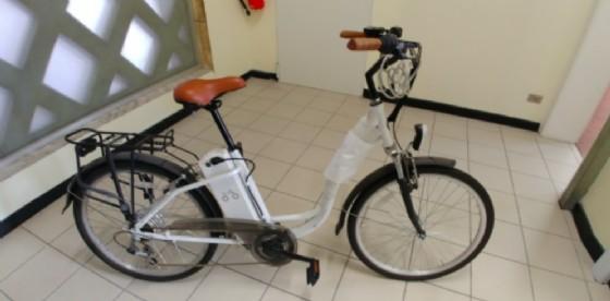 Una delle biciclette ritrovate