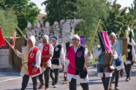A Roveredo la 35ma Rievocazione dell'anto giuoco dei Pindoi (© Congrega dei Borghi Roveredani)