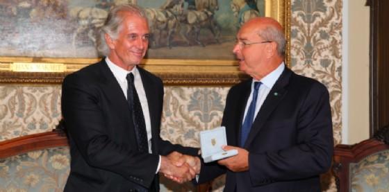 Massimiliano Finazzer Flory e il sindaco Dipiazza