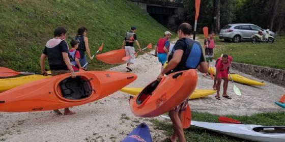In canoa sul Noncello! (© Comune di Pordenone)