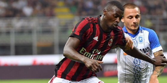 L'attaccante francese M'Baye Niang
