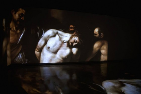«Caravaggio Experience» alla Reggia di Venaria (© «Caravaggio Experience»)