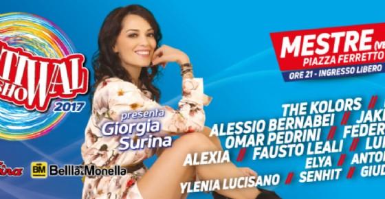 A Mestre è tutto pronto per Festival Show, il festival itinerante dell'estate italiana