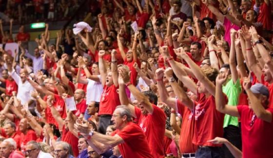 All'Alma Arena la Supercoppa 2017 (© Facebook - Alma Pallacanestro Trieste)