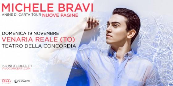 Michele Bravi al Teatro della Concordia di Venaria Reale (© Teatro della Concordia)