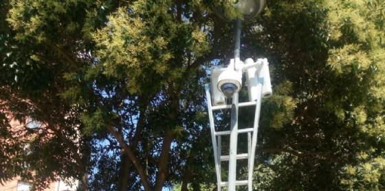 Sicurezza: telecamere al parco di via Bertossi