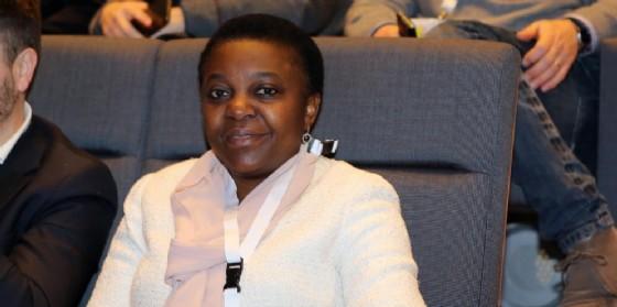 L'europarlamentare Pd Cecile Kyenge
