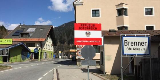 Il confine del Brennero