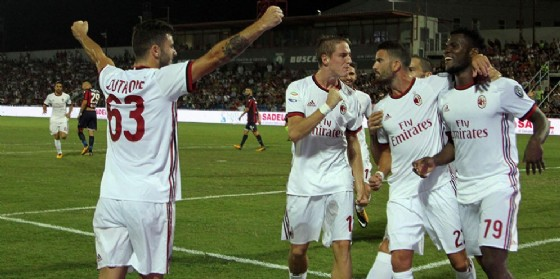 Il Milan 2017-2018 va a caccia di successi in Italia e in Europa