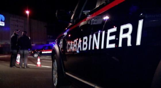 Incidente nella notte sulla provinciale della Mandria (© Diario di Torino)