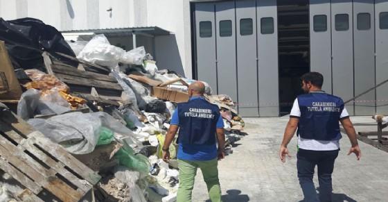 Scoperta discarica abusiva nella zona industriale di Pianezza (© Carabinieri)