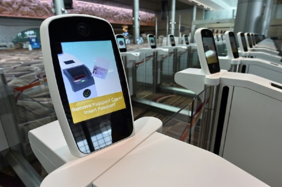 New technology like passport scanners are aimed at making the airport experience more efficient and pleasant