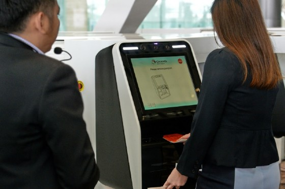 Self-service check-in and printing of boarding passes are already common