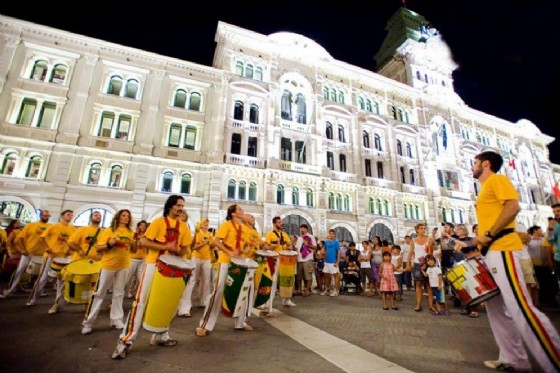 La Banda Berimbau (© I colori del mondo)