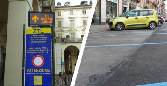Ztl e strisce blu: tornano in vigore divieti e obblighi (© Diario di Torino)