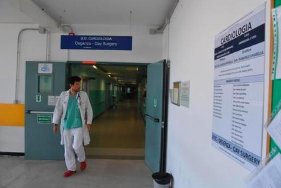 Il reparto di Cardiologia (© ANSA)