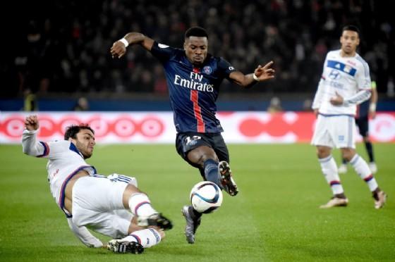 Serge Aurier, difensore del Paris Saint Germain in procinto di passare al Tottenham