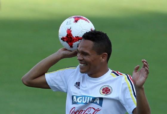 Carlos Bacca, appena passato dal Milan al Villarreal