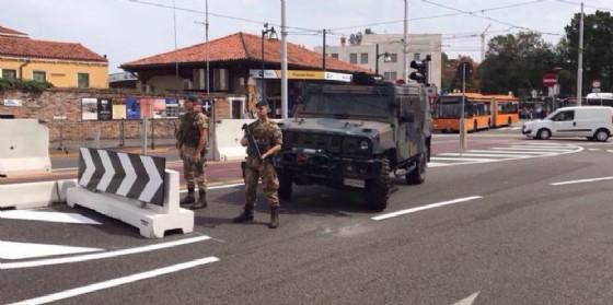 Terrorismo: Venezia, blocchi in piazzale Roma