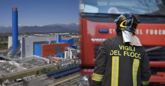 Incendio al Gerbido, a fuoco un componente esterno (© Diario di Torino)