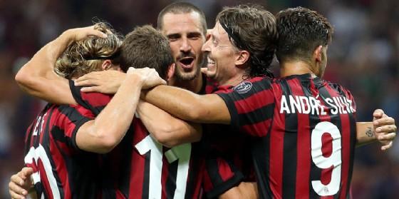 Il Milan 2017-2018 è partito con 6 vittorie in altrettante partite fra campionato e Coppa Uefa