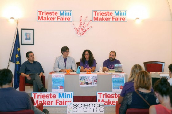 Un momento della presentazione di Trieste Mini Maker Faire 2017 (© Comune di Trieste)