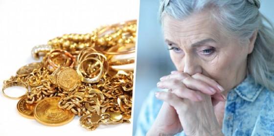 Anziana e gioielli (© Diario di Biella)