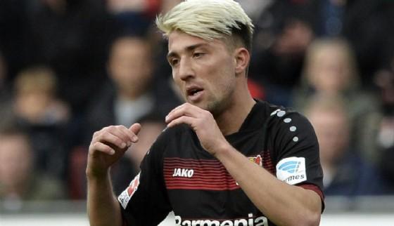 Il centrocampista del Bayer Leverkusen Kevin Kampl