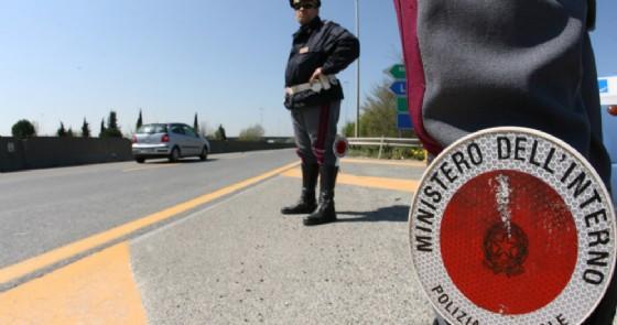 Controlli stradali da parte della Polizia di Stato