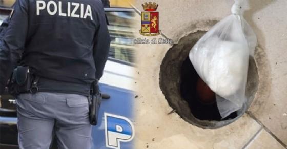 Cocaina nascosta nello scarico del bagno: in manette due stranieri ...