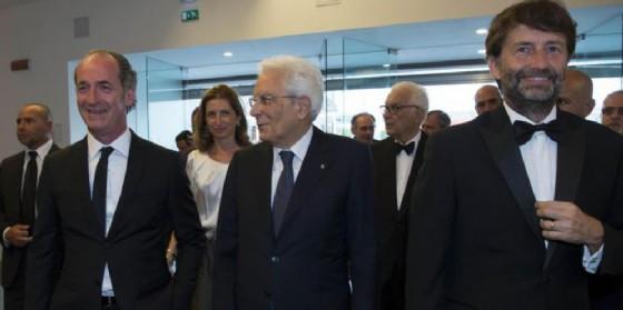 Il presidente Mattarella visita la Biennale