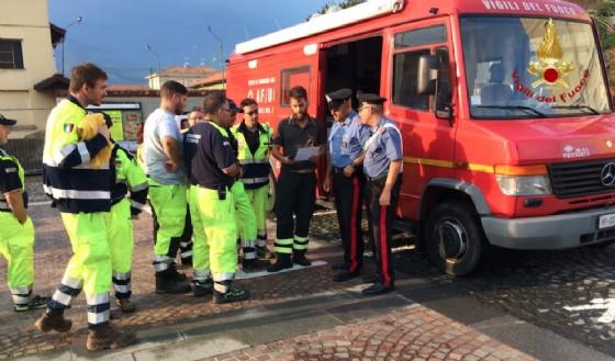 Forze dell'ordine, vigili del fuoco e protezione civile (© Vigili del Fuoco di Biella)