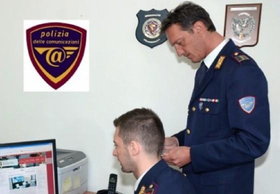 Personale della polizia postale di Biella (© Polizia di Stato - Biella)